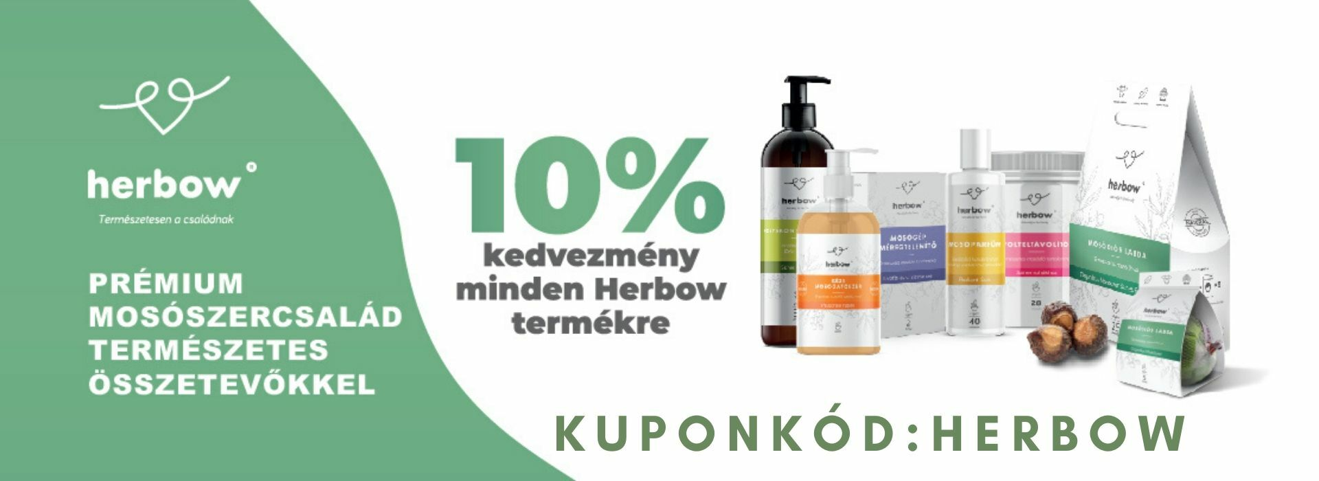 Herbow 10% akci