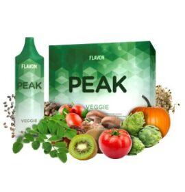 Flavon Peak Veggie polifenolokat és flavonoidokat tartalmazó étrend-kiegészítő 30x10 g (300 g)
