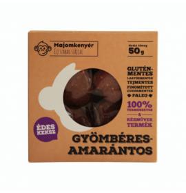 MAJOMKENYÉR GYÖMBÉRES-AMARÁNTOS PALEOKEKSZ 50G