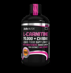 BIOTECH L-CARNITINE+CHROME OLDAT NARANCS 500ML