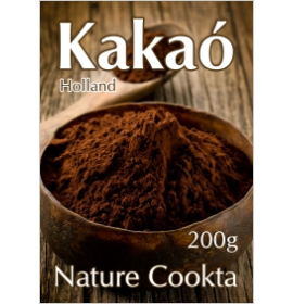 NATURE COOKTA HOLLAND KAKAÓPOR 10-12% 200G