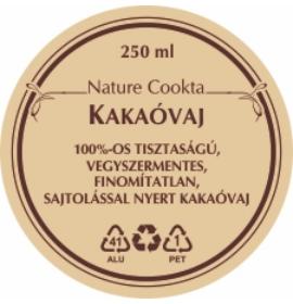 NATURE COOKTA KAKAÓVAJ 250ML
