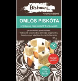 ÉLÉSKAMRA OMLÓS PISKÓTA LISZTKEVERÉK 125G