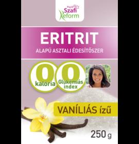 SZAFI REFORM VANÍLIÁS ÍZŰ ERITRIT (ERITRITOL) 250G