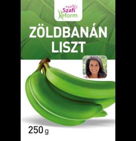 SZAFI REFORM ZÖLDBANÁN LISZT 250G