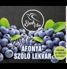 SZAFI FREE ÁFONYA-SZŐLŐ LEKVÁR 350G
