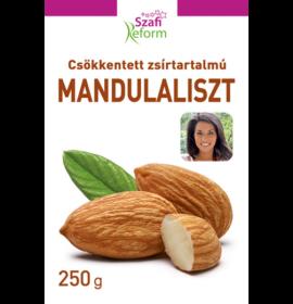 SZAFI REFORM CSÖKKENTETT ZSÍRTARTALMU MANDULALISZT 250G