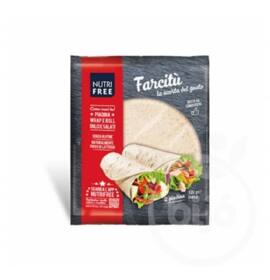 NUTRIFREE FARCITÚ GLUTÉNMENTES TORTILLA LAP 120G