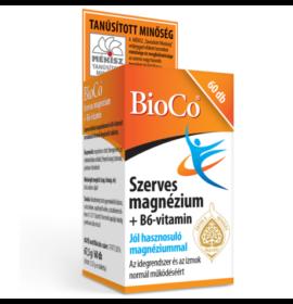 BIOCO SZERVES MAGNÉZIUM+B6-VITAMIN 60 DB