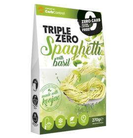 Forpro zero kalóriás tészta - spaghetti bazsalikommal cukor/zsír/laktóz/glutén/szójamentes 270 g