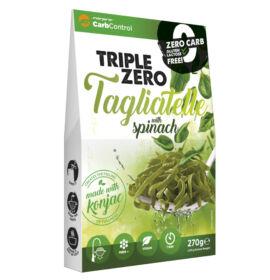 Forpro zero kalóriás tészta spenóttal - tagliatelle cukor/zsír/laktóz/glutén/szójamentes 270 g