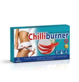 Natur Tanya® Chilliburner® zsírégető tabletta. 15 db csípős chili paprikával, szabadalommal! 30db