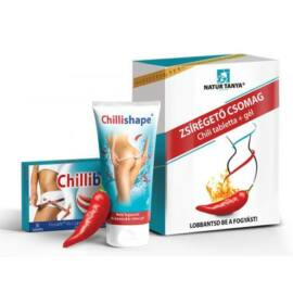 Natur Tanya® Zsírégető csomag - Chili tabletta 30db és Chili gél 200ml