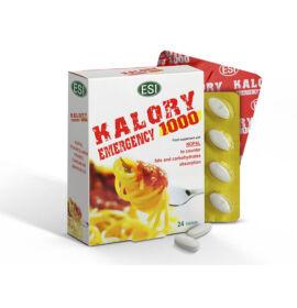 ESI® Kalory emergency - Nopal kaktusz alapú tabletta, csökkenti az együtt elfogyasztott ételek GI- értékét.