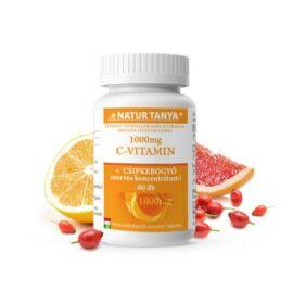 Natur Tanya® Retard C-vitamin 1000 mg - Folyamatos felszívódású, magas biohasznosulású magyar termék.