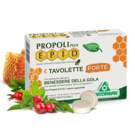 Specchiasol® EPID® C szopogatós tabletta - extra hatóanyag tartalommal és szabadalommal. 1,7 g propolisz/ napi adag!