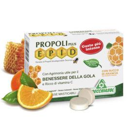 Specchiasol® Cukormentes Propolisz szopogatós tabletta narancsos íz - EPID® szabadalommal, 600 mg-os kivonat.