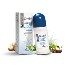 Specchiasol® DeoSol® - Probiotikumokkal és prebiotikumokkal dúsított, természetes, mindentől mentes golyós dezodor.