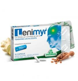 Specchiasol® Lenimyr – mirhagyanta, gyömbérgyökér és vízmentes koffein kapszula 10db