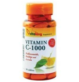 Vitaking C-1000 C-vitamin tabletta bioflavonoidokkal 90db