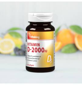 Vitaking D-vitamin 2000NE 90db