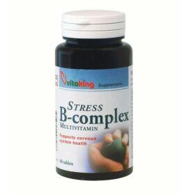 Vitaking Stressz B-komplex tabletta 60db