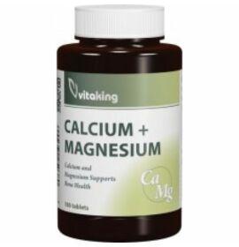 Vitaking Calcium (500mg)+Magnézium (250mg) kapszula 100db