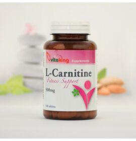 Vitaking L-karnitin 500mg tabletta 100 db