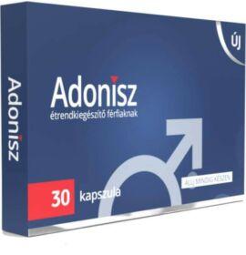 Adonisz potencianövelő étrendkiegészítő kapszula férfiaknak 30 db