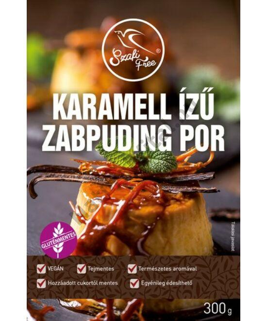 SZAFI FREE KARAMELL IZŰ ZABPUDINGPOR 300G