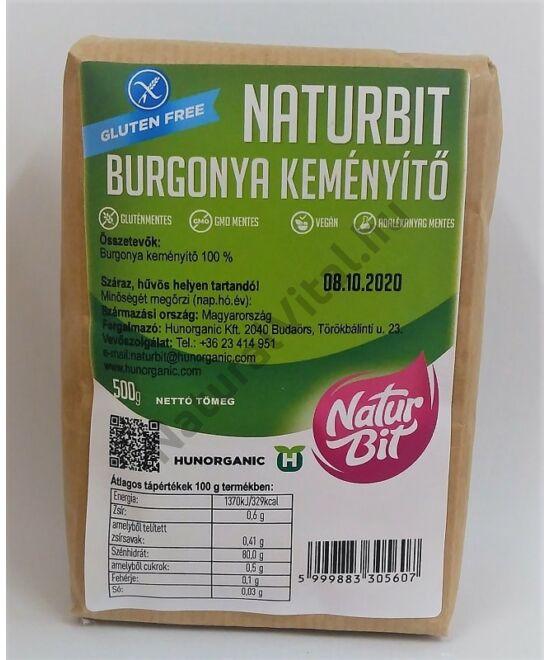 NATURBIT GM BURGONYA KEMÉNYÍTŐ 500 G