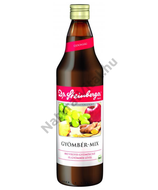 DR STEINBERGER BIO GYÖMBÉR-MIX 750ML