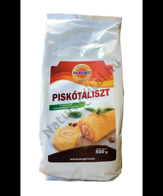DIA-WELLNESS PISKÓTALISZT 500G