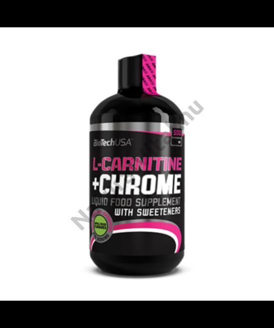 BIOTECH L-CARNITINE+CHROME OLDAT KÖRTE-ALMA 500ML