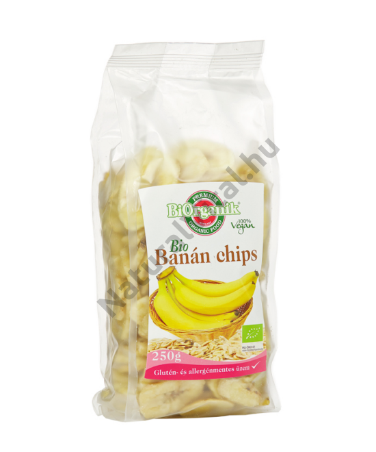 BIORGANIK BIO BANÁNCHIPS 250G