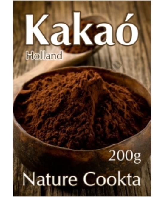 NATURE COOKTA HOLLAND KAKAÓPOR 10-12% 200G