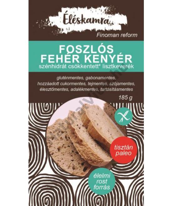 ÉLÉSKAMRA FOSZLÓS FEHÉR KENYÉR LISZTKEVERÉK 185G