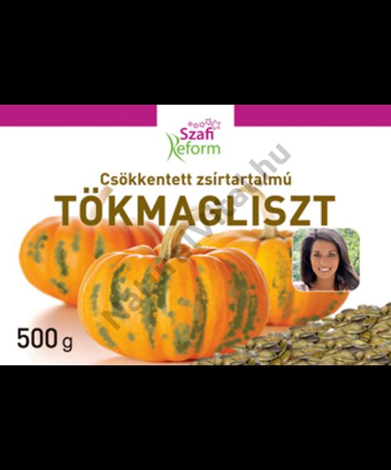 SZAFI REFORM CSÖKKENTETT ZSÍRTARTALMU TÖKMAGLISZT 500G