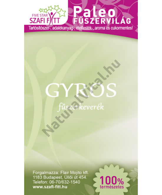 SZAFI_REFORM_PALEO_GYROS_FUSZERKEVEREK_50G