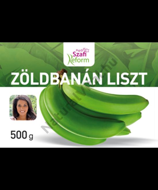 SZAFI REFORM ZÖLDBANÁN LISZT 500G