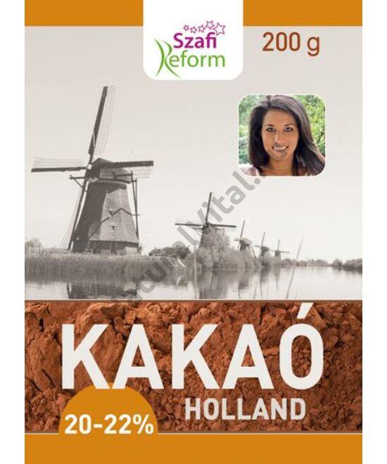 SZAFI REFORM HOLLAND KAKAÓPOR (20-22% KAKAÓVAJ TARTALOM) 200 G