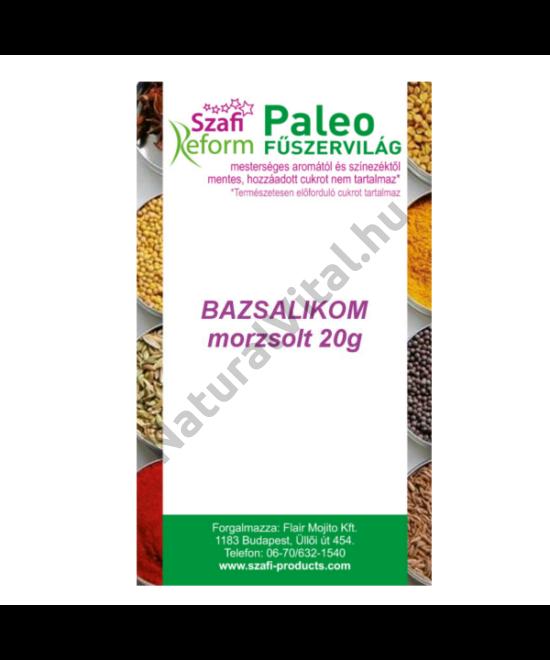 SZAFI REFORM PALEO BAZSALIKOM MORZSOLT 20 G
