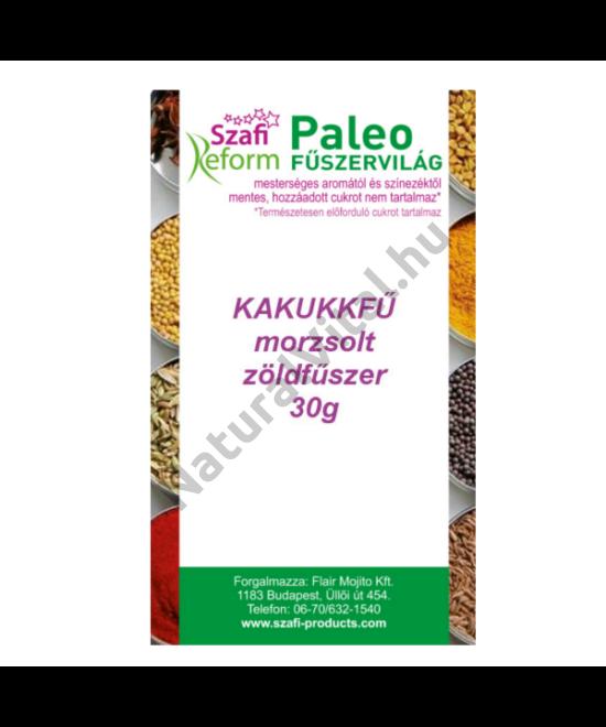 SZAFI REFORM PALEO KAKUKKFŰ MORZSOLT ZÖLDFŰSZER 30 G