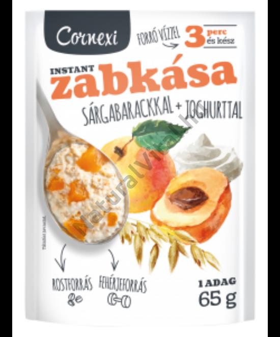 CORNEXI SÁRGABARACKOS-JOGHURTOS ZABKÁSA 65G