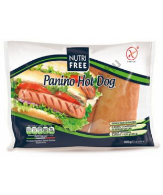 NUTRIFREE PANINO HOT-DOG KIFLI 180 G