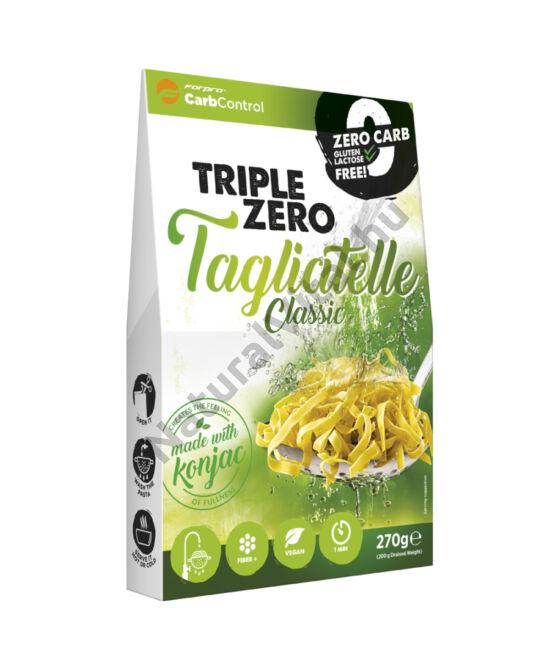 Forpro zero kalóriás tészta - tagliatelle cukor/zsír/laktóz/glutén/szójamentes 270 g