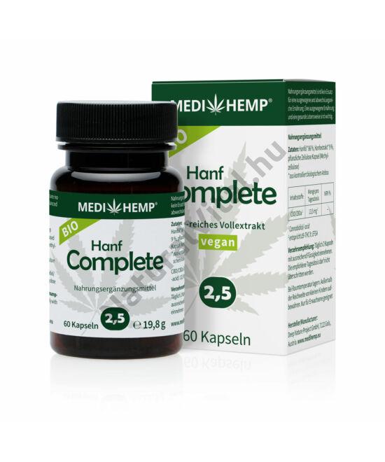 MEDI HEMP Bio Kender Complete Capsules 2,5%,  60db