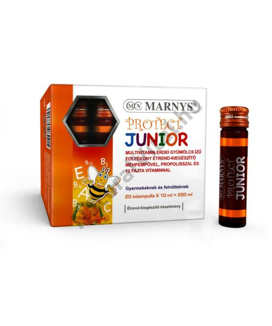 MARNYS® PROTECT JUNIOR FOLYÉKONY MULTIVITAMIN / 20 DB X 10 ML IVÓAMPULLA