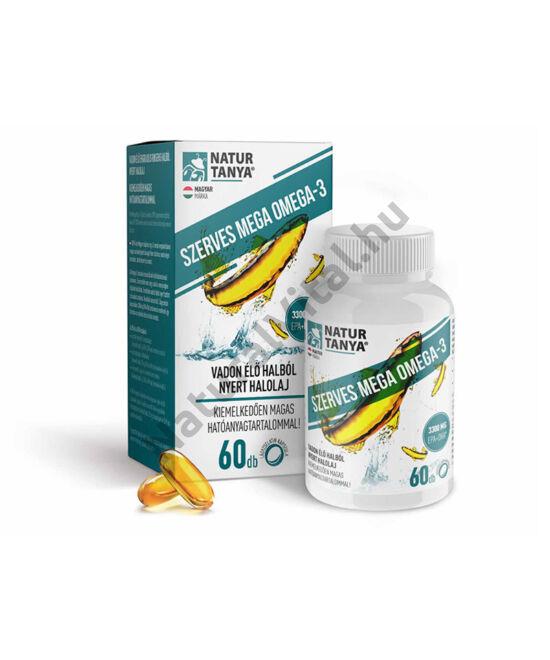 Natur Tanya® Mega Omega-3 - vadvízi halolaj, extra EPA és DHA tartalom