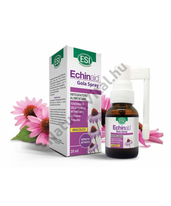 ESI® Alkoholmentes Echinacea torokspray - Több, mint 500 fújásra elegendő! Mentás ízű, cukormentes.